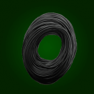 Silicone Wire - 12 AWG - Black (25 Feet)